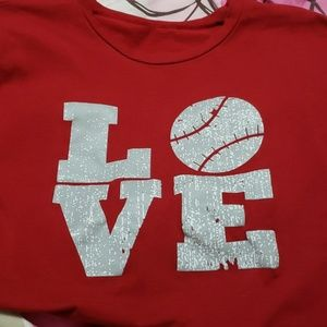Tops - Baseball t shirt